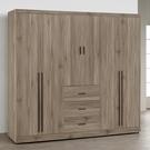 【森可家居】珂琪7尺組合衣櫃(全組) 10ZX090-5衣櫥 古橡木紋質感 MIT台灣製造