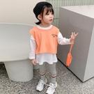 女童三件套洋氣薄款女寶寶時髦套裝韓版潮