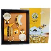 文創杯B款-蜜蜂造型茶壺杯盤組*1+蜜蜂造型馬克杯8oz*2【養蜂人家】