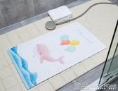防滑墊浴室家用衛浴衛生間地墊廁所淋浴洗澡腳墊帶吸盤耐磨門墊 MKS免運