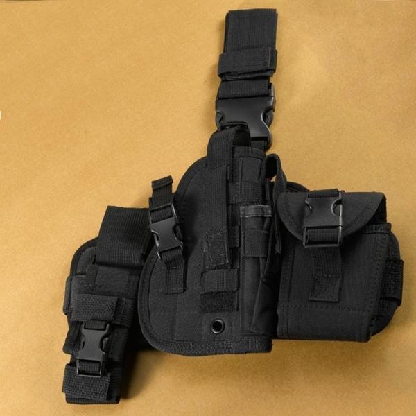腿包戰術組合腿包男多功能戶外戰術綁腿快掛腰腿包雜物包腿掛包解憂