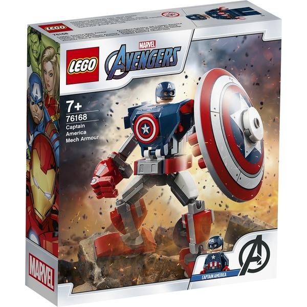 樂高積木 LEGO《 LT76168 》SUPER HEROES 超級英雄系列 - 美國隊長機甲 / JOYBUS玩具百貨