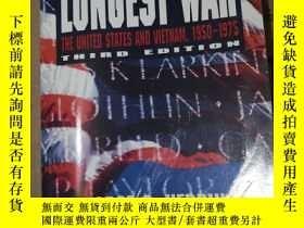 二手書博民逛書店america`s罕見longest war:the united states states and vietn