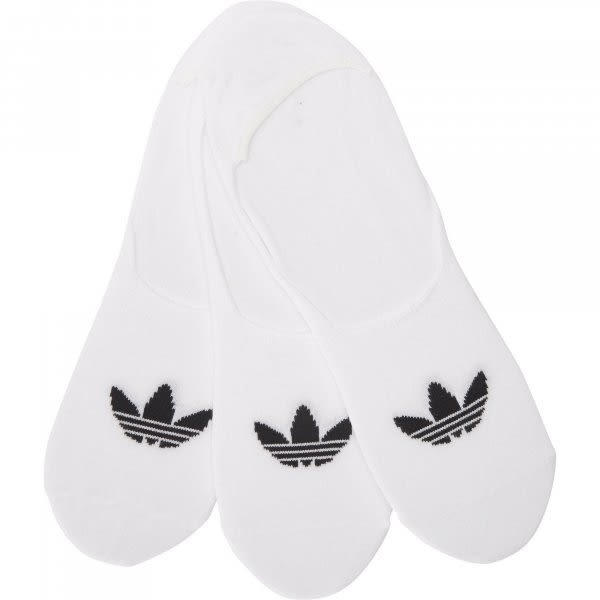 ▶adidas Originals Low Cut 3-PPK socks  白色 帆船襪 裸襪 CV5941