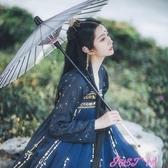 漢服女原創漢服女中國風對襟刺繡齊胸襦裙燙金6米擺春季新品