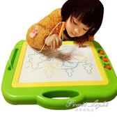 寫字板 超大號兒童畫畫板磁性彩色寫字板小黑板家用塗鴉板寶寶1-3歲2玩具 果果輕時尚NMS