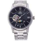 【時間光廊】ORIENT 東方錶 日月星辰 立體層次面板 自動上練 機械錶 全新原廠公司貨 RA-AS0002B