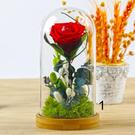 永生花玻璃罩系列,一生一世 單朵玫瑰,共有8款