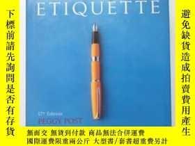 二手書博民逛書店Emily罕見Post s Etiquette, 17th E