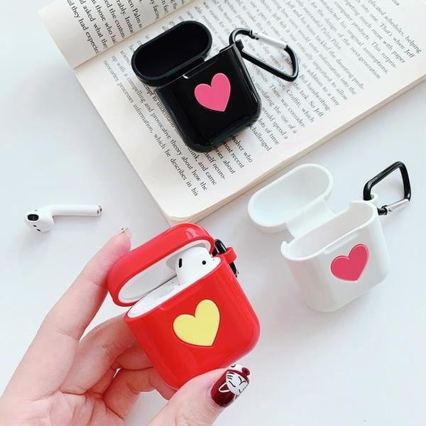 全館83折 AirPods保護套iPhone蘋果藍牙無線耳機保護殼防掉air可愛ipods硅膠