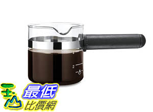 咖啡機專用玻璃杯 Medelco 4 Cup Universal Glass Espresso Replacement Carafe, Black B000TD3D2A