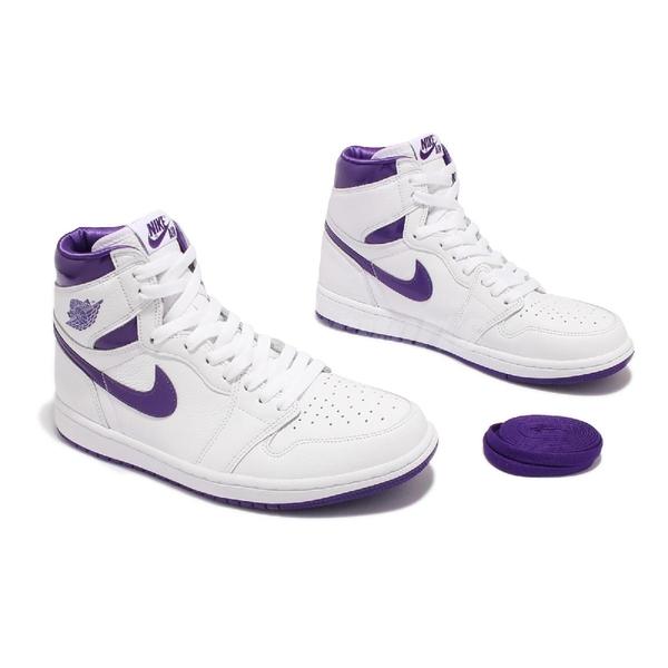 Nike 籃球鞋 Wmns Air Jordan 1 High OG 紫 女鞋 喬丹 AJ1 一代 【ACS】 CD0461-151