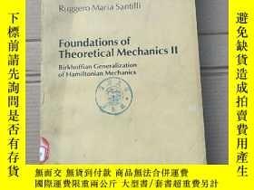 二手書博民逛書店foundations罕見of theoretical mechanics II(P1959)Y173412