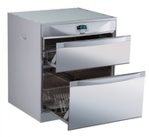 (全省安裝)林內落地式雙抽屜45公分烘碗機RKD-4553(P)