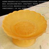 果盤-供盤水果盤琉璃果盤供佛家用佛前蓮花貢盤供具佛教供奉用品佛供盤  多莉絲