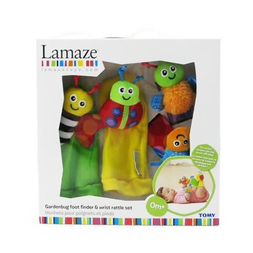 【奇買親子購物網】Lamaze 拉梅茲 嬰幼兒玩具-新小手小腳在哪裡