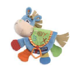 **小饅頭**Playgro 布質小馬小型玩具 (PG0101146