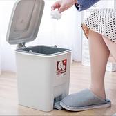 桌面垃圾桶 有蓋垃圾桶家用客廳臥室大號腳踩衛生間創意帶蓋腳踏式垃圾筒【快速出貨八折鉅惠】