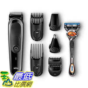 [8美國直購] 鬍鬚修剪器 Braun MGK3060 Mens Beard Trimmer for Hair Head Trimming, Grooming