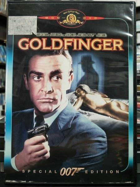 挖寶二手片-D23-正版DVD-電影【007:金手指】-史恩康納萊(直購價)