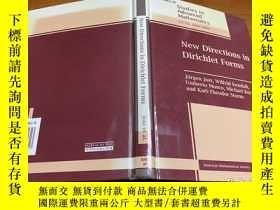 二手書博民逛書店New罕見Directions in Dirichlet FormsY171500 看圖 看圖