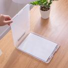 文件夾板 多功能A4帶筆槽寫字墊板夾文件盒檔案盒塑料文件夾收納盒戶外防水