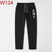 AF Abercrombie & Fitch A&F A & F 男 長 棉褲 AF W124