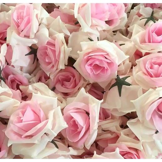 CARMO仿真玫瑰花婚宴假花(單個) 塑膠花【FL06001】