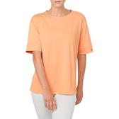 Asics GEL-Cool Top [153506-0398] 女 短袖 上衣 運動 休閒 吸濕 排汗 速乾 粉橘
