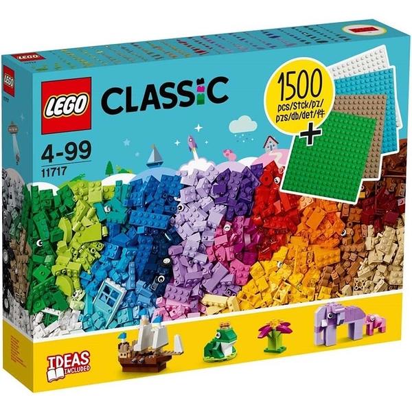 樂高積木 LEGO《 LT11717 》Classic 經典基本顆粒系列 - 樂高積木底板創意盒 / JOYBUS玩具百貨