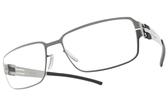 Ic! Berlin光學眼鏡 T19-16-4 CERAMIC MATT (霧銀) 紳士簡約框 薄鋼眼鏡 # 金橘眼鏡