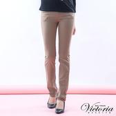 Victoria 基本斜紋小直筒褲-女-可可-VW212078(領劵再折)