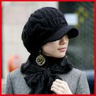 帽子 新款 日韓版 女款 毛線帽 針織帽...