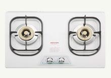 【歐雅系統家具廚具】豪山 HOSUN ST-2077S 不銹鋼 雙口歐化檯面式瓦斯爐