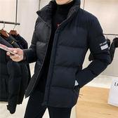 新款男士潮流時尚棉服 男款百搭個性冬天加絨棉衣 型男簡約保暖棉襖 男生冬天加厚休閒外套