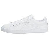 Puma Basket Classic 女 白色 全白 皮革 經典復古網球鞋 休閒鞋 跳舞鞋 36307501