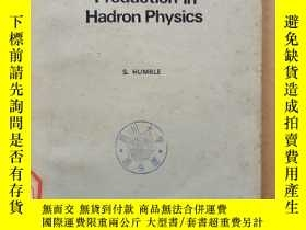 二手書博民逛書店introduction罕見to particle production in hadron physics(P4