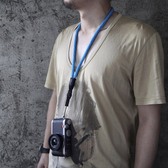 cam-in 全棉真皮時尚相機背帶 通用型 數碼微單肩帶 手機掛繩頸帶 米希美衣