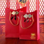創意回禮袋喜袋燙金禮品袋紙袋喜糖盒子