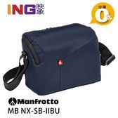【24期0利率】Manfrotto MB NX-SB-IIBU 開拓者DSLR單眼肩背包 藍色 正成公司貨 側背包 相機包