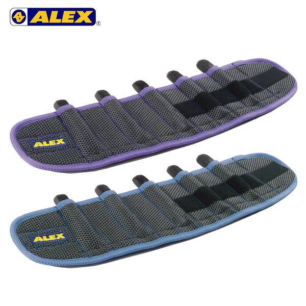 ALEX 第二代十格式加重綁腿 (台灣製 加重器 調整式 健身 肌力訓練≡體院≡ C-250