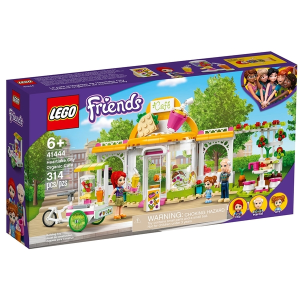 LEGO樂高 Friends系列 心湖城有機咖啡廳_LG41444