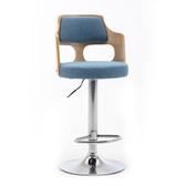升降椅 現代簡約吧台椅輕奢高腳凳家用北歐吧台凳前台凳子升降旋轉靠背椅T