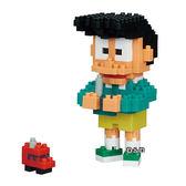 《 Nano Block 迷你積木 》【 哆啦 A 夢系列 】NBCC - 040 小夫 ╭★ JOYBUS玩具百貨