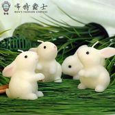 兒童生日派對玉兔創意生日蠟燭小兔子兔生肖蠟燭送朋友感恩交換禮物快速出貨下殺75折