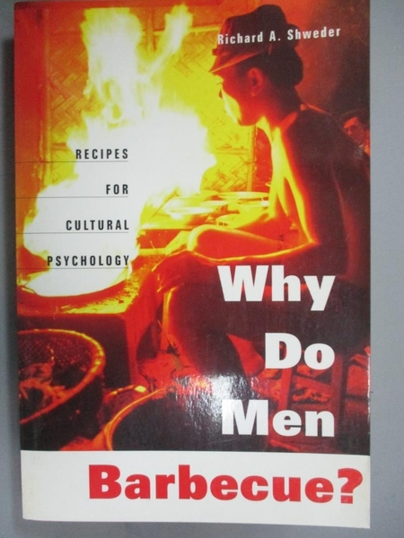 【書寶二手書T5/心理_HBF】Why Do Men Barbecue?: Recipes for Cultural P