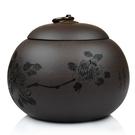 收納茶葉罐-密封保存防潮牡丹紫砂泡茶品茗花茶罐4款71d12【時尚巴黎】