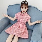 女童夏裝新款兒童裝洋氣韓版洋裝大童公主裙夏季小女孩裙子 夏季新品