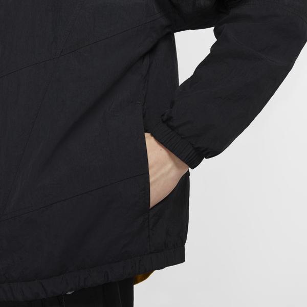 NIKE SPORTSWEAR HERITAGE 男裝 外套 風衣 連帽 logo 黑【運動世界】CJ4359-010