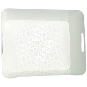 KEYWAY 小比利整理收納盒 白色款 KY-616 24x16.8x10.4cm